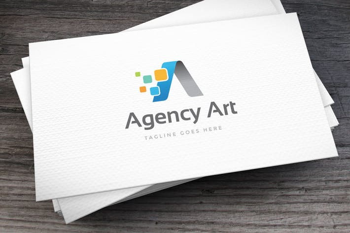 Thumbnail for Agency Art Letter A Logo Template