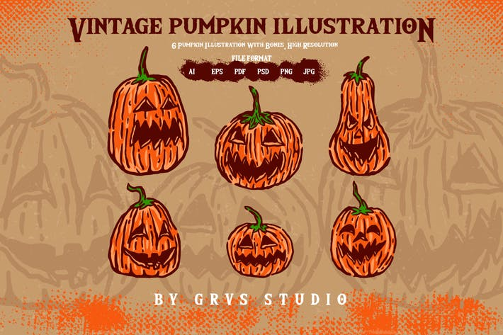 Thumbnail for Vintage Pumpkins