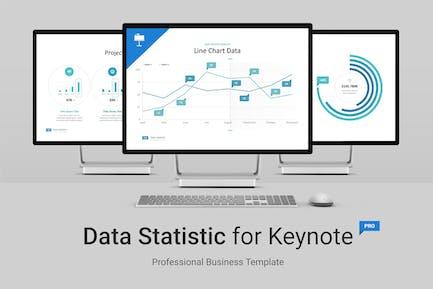 Data Statistic for Keynote
