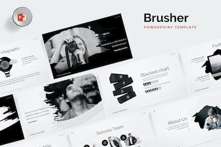 Brusher Powerpoint-Vorlage