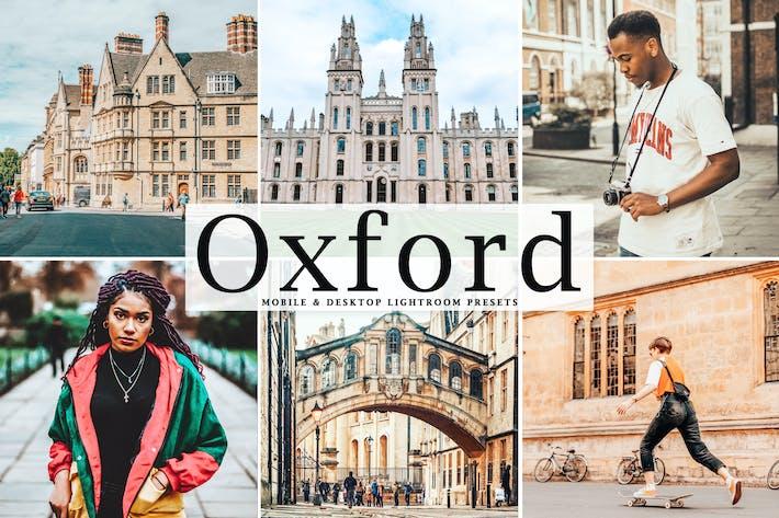 Thumbnail for Oxford Mobile & Desktop Lightroom Presets