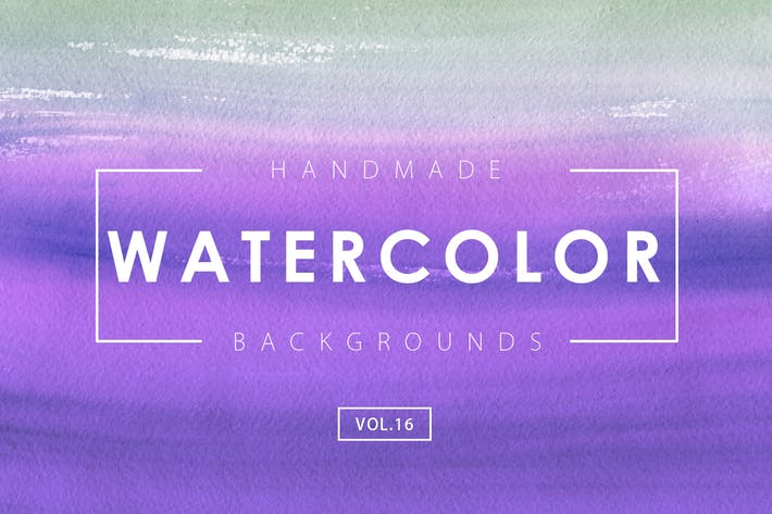 Thumbnail for Handmade Watercolor Backgrounds Vol.16