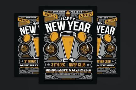 New Year Party Celebration