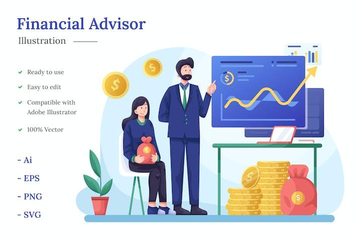Thumbnail for Abbildung des Finanzberaters