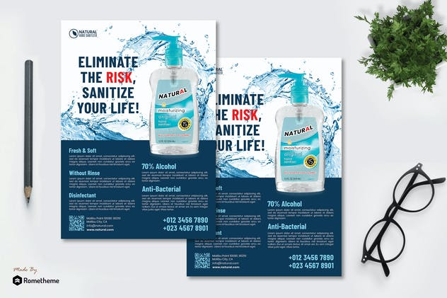 Hand Sanitizer vol.02 - Flyer RB