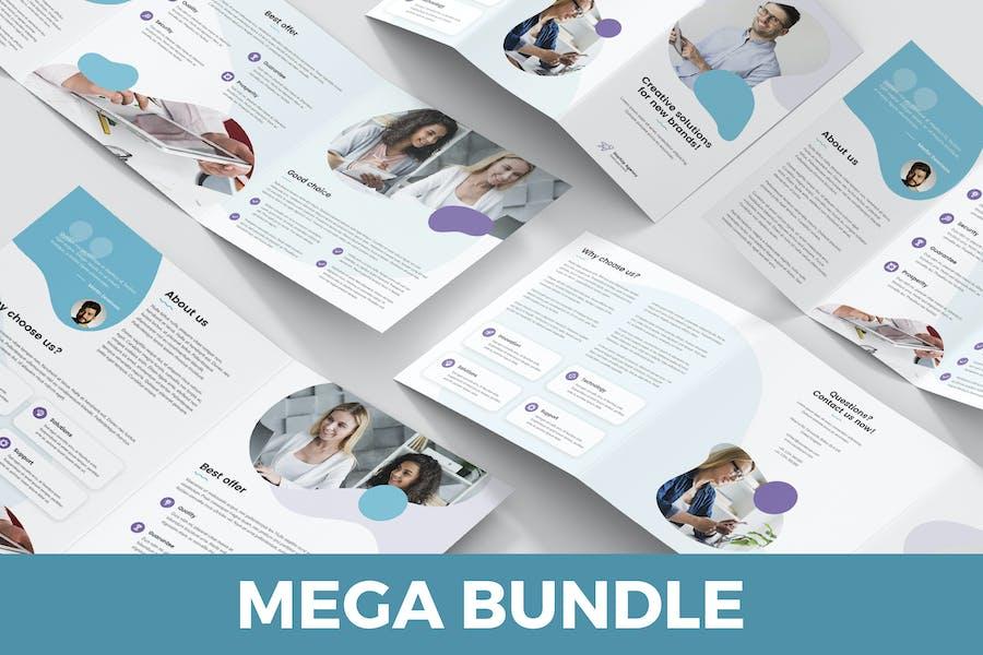 StartUp Agency – Brochures Bundle Print Templates