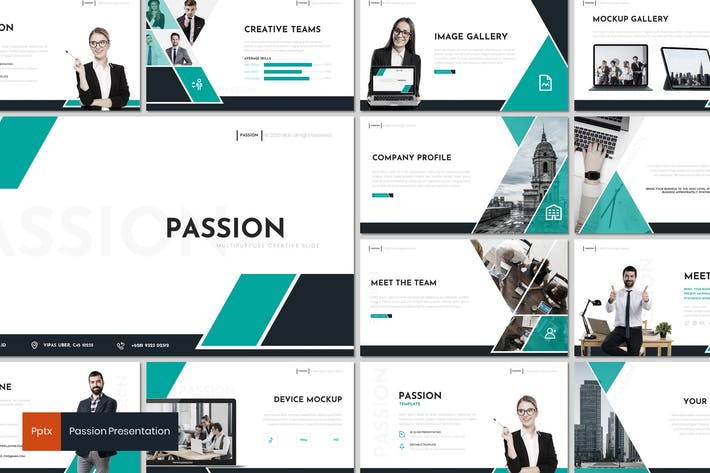 Passion - Powerpoint Template