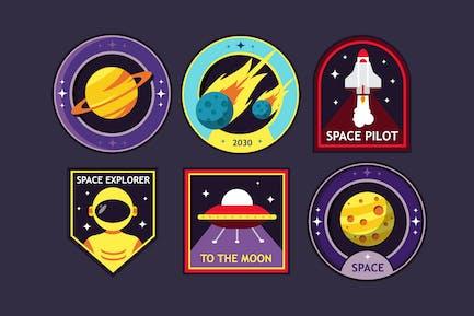 Badges Cosmic