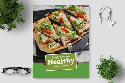 Healthy Recipe Book Template