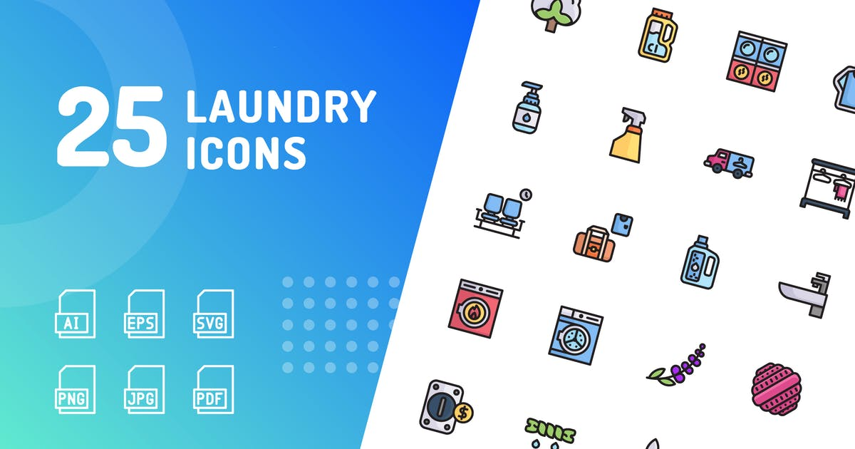 Download Laundry Color Icons by kerismaker