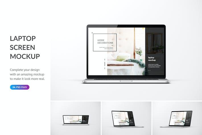 Thumbnail for Laptop Mockup