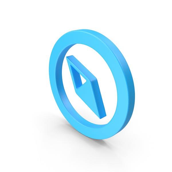 Значок веб-компаса