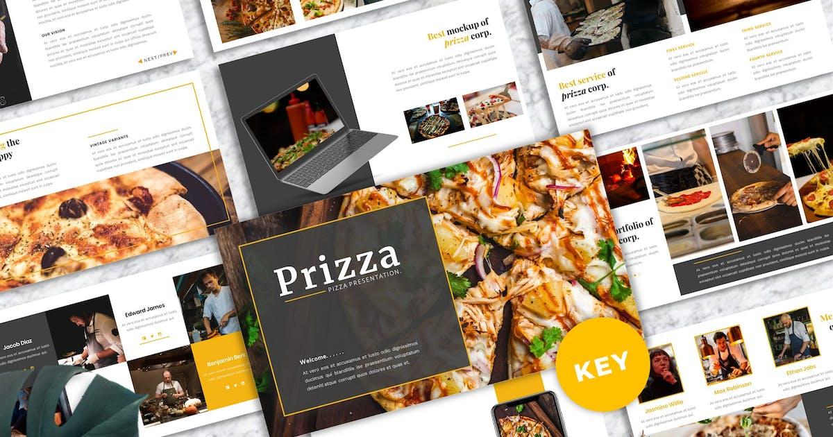 Download Prizza – Pizza & Beverage Keynote Template by Yumnacreative