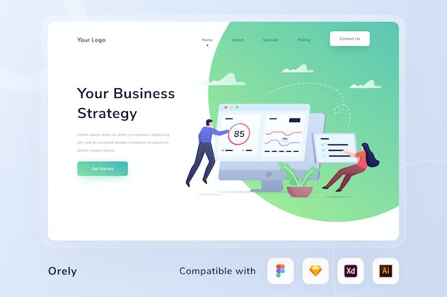 Business Strategy Header