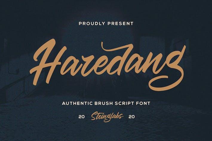 Thumbnail for Haredang - Fuente de escritura en negrita