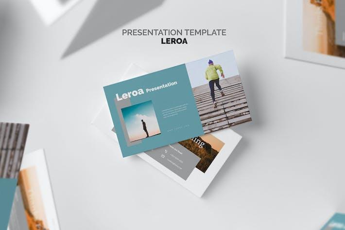 Thumbnail for Лероа: Запуск образа жизни Powerpoint