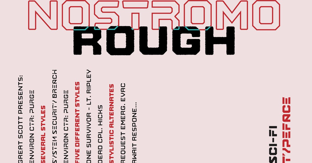 Download Nostromo Rough by dafeld