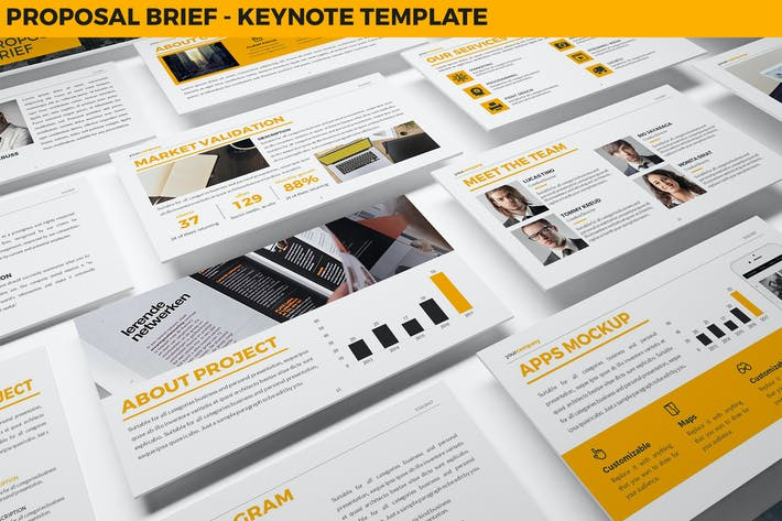 Thumbnail for Proposal Brief Keynote Template