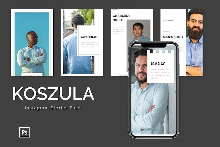 Thumbnail for Koszula  - Instagram Story Pack