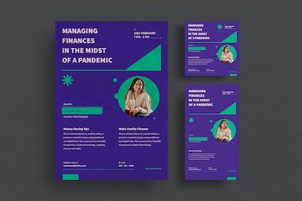 Verwalten von Finanz-Webinar