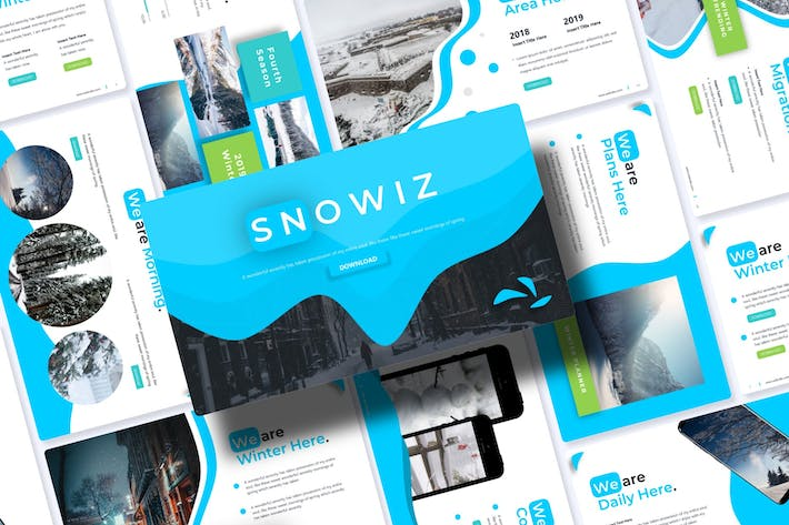 Thumbnail for Snowiz | Powerpoint Template