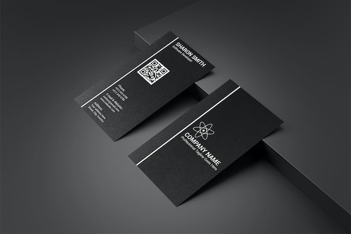 Thumbnail for Business Card Template V.5