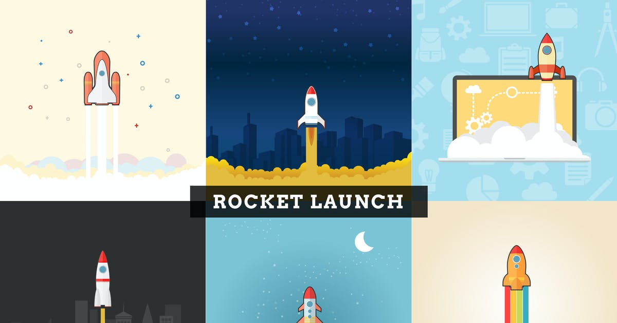 Download Rocket Launch by vintagio