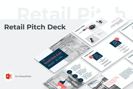 Retail Pitch Deck PowerPoint Template