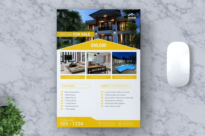 Thumbnail for Real Estate Flyer Vol #02