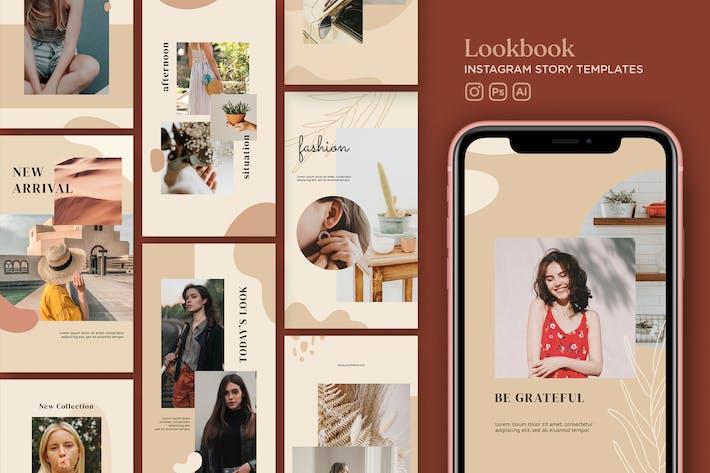 Thumbnail for Instagram Story Template V.19 Lookbook