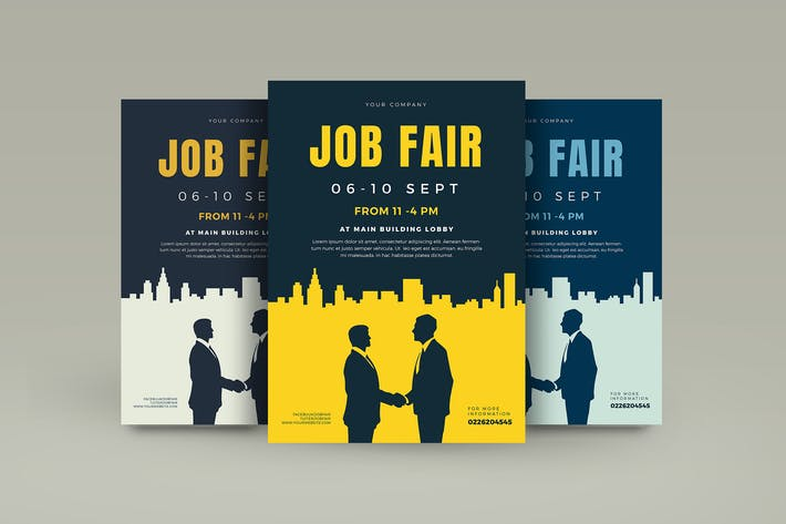 Cover Image For Job Fair Flyer