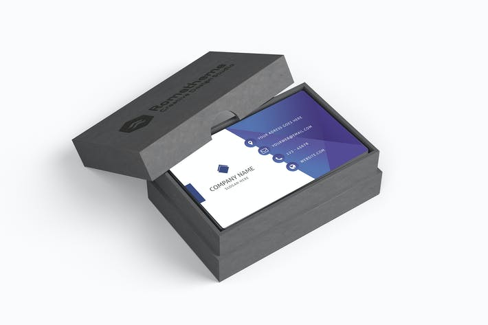 Thumbnail for Business Card Box Mockups vol. 01
