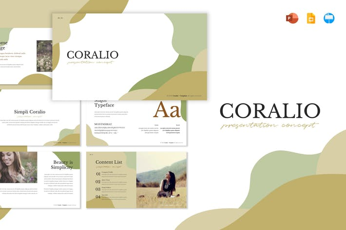 Thumbnail for Coralio - Шаблон презентации