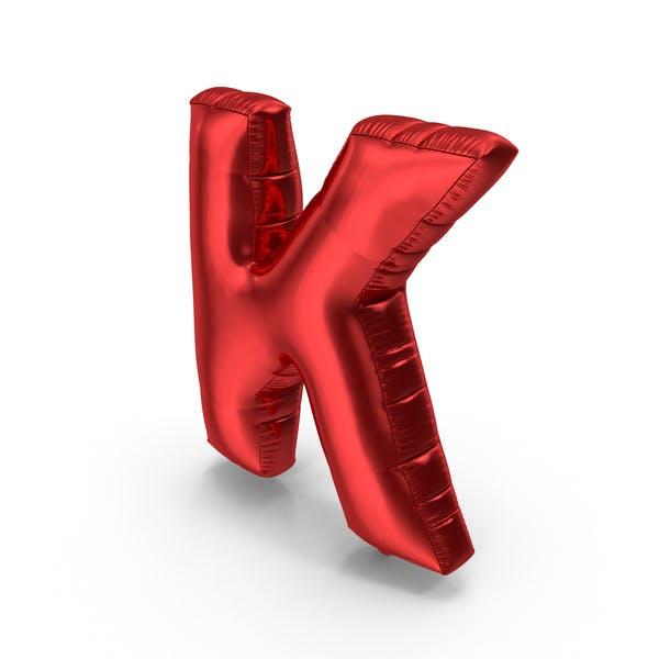 Foil Balloon Letter K