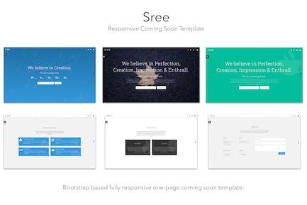 Sree - Responsive Coming Soon Template