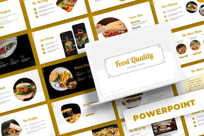 Thumbnail for Food Quality - Powerpoint Template