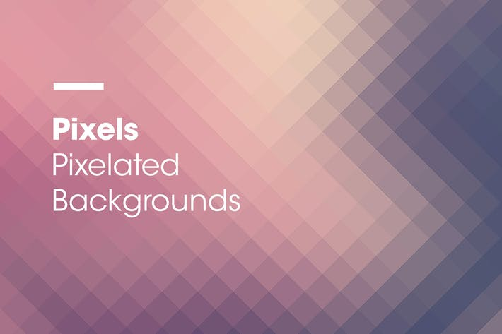 Thumbnail for Pixels | Pixelated Backgrounds