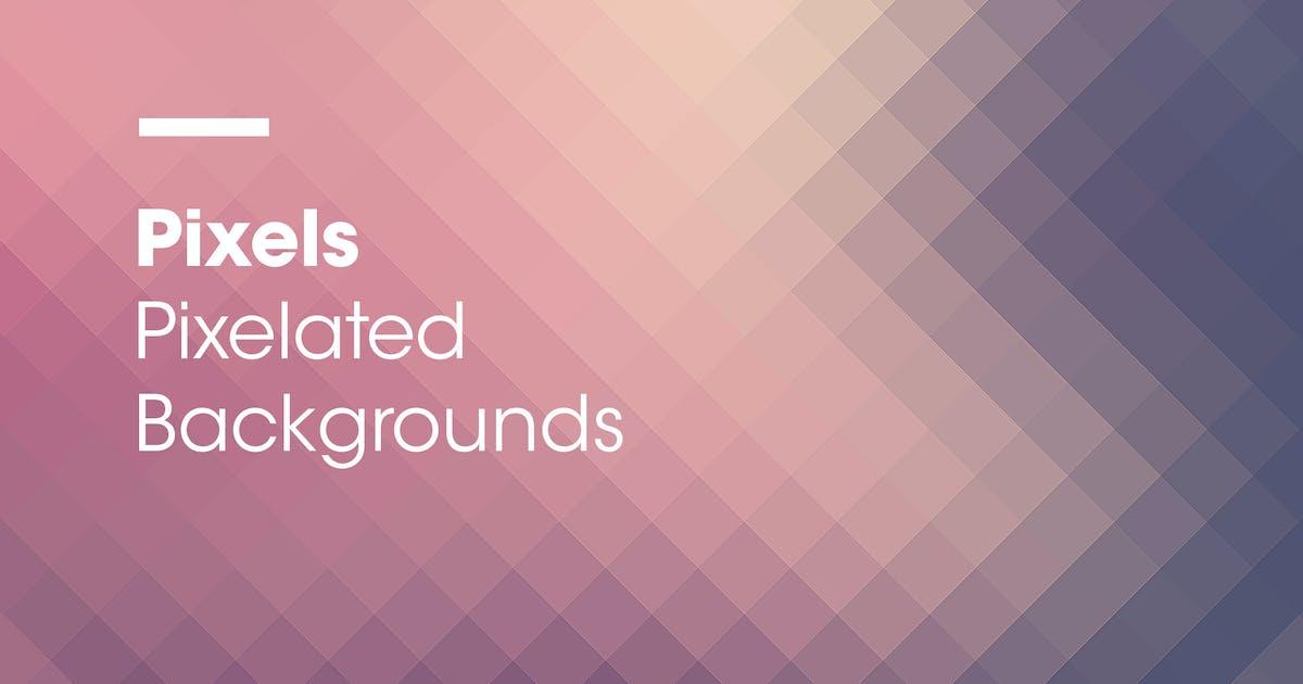 Pixels | Pixelated Backgrounds by devotchkah