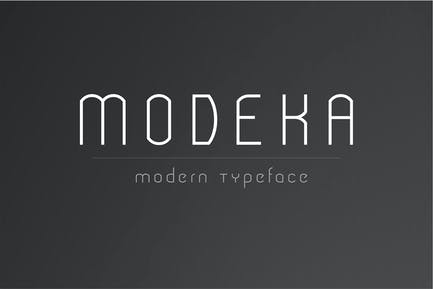Modeka - Fuente Moderno