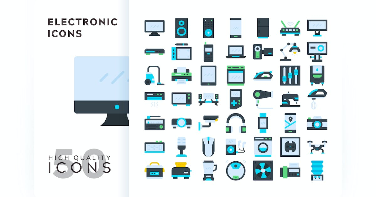 Download ELECTRONIC FLAT COLOR by subqistd