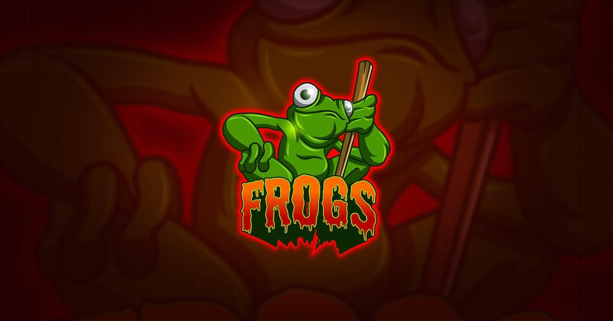 Download Frog - Mascot & Esport Logo by aqrstudio
