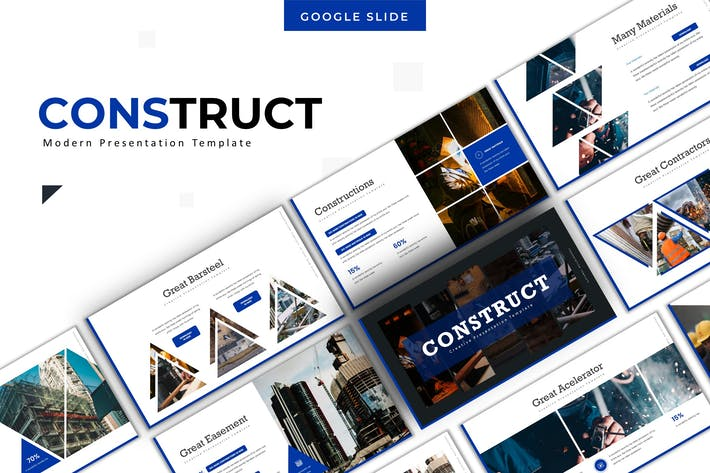 Thumbnail for Construct - Google Slide Template