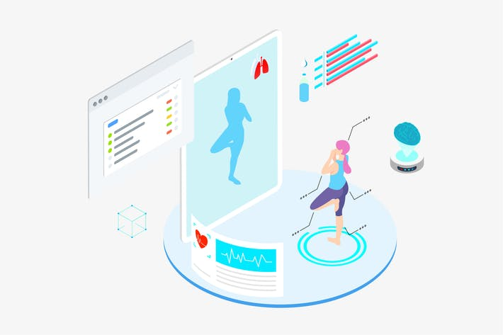 Thumbnail for ARVR Exercise And Sport 3 Isometric - TU