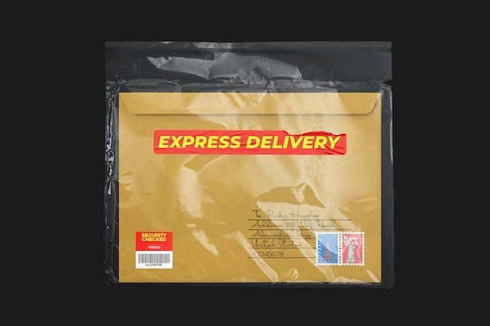 Versandverpackung Mockup