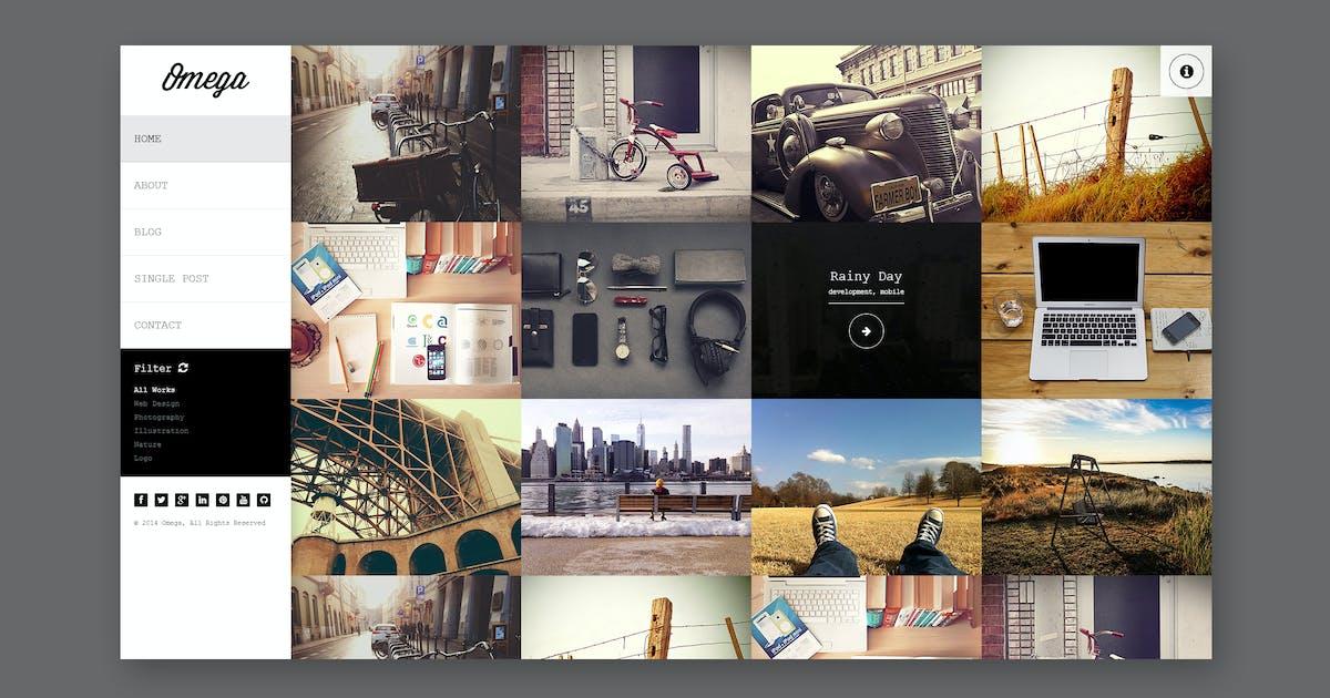 Download Omega - Full Width HTML Portfolio by PremiumLayers