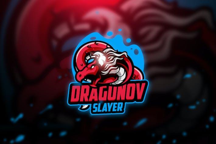 Thumbnail for Dragunov 3 - Mascot & Esport Logo