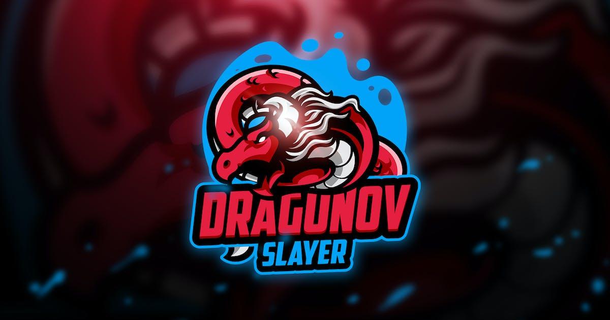 Download Dragunov 3 - Mascot & Esport Logo by aqrstudio