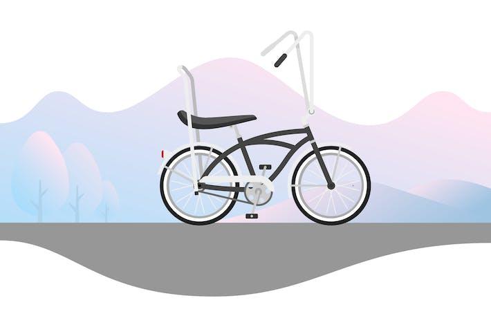 Thumbnail for Beach Cruiser with Banana Seat