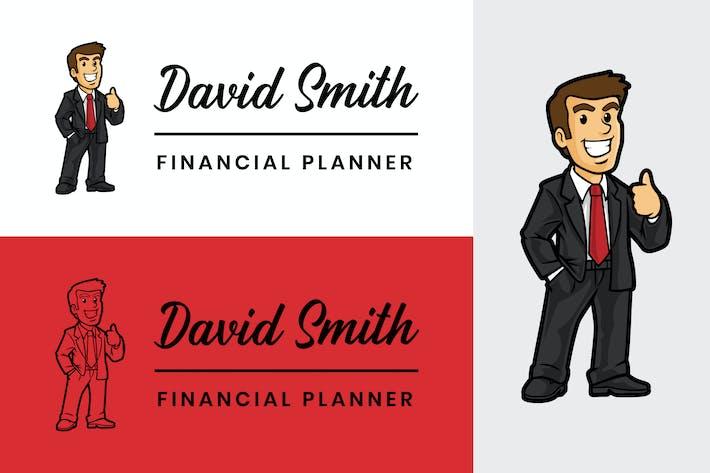 Thumbnail for Finance Logo - Mascot
