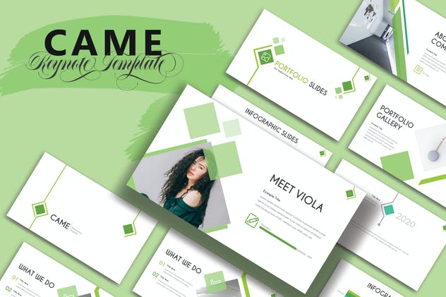 CAME - Keynote Template